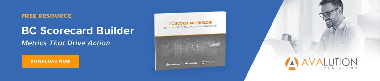 Avalution Scorecard